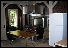 CCC Recreation Building kitchen