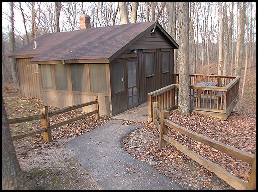 Picture of cabins mccormick 39 s creek state park indiana for Cottages at camp creek