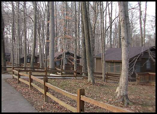 Cabins Photo - McCormick's Creek State Park, Indiana